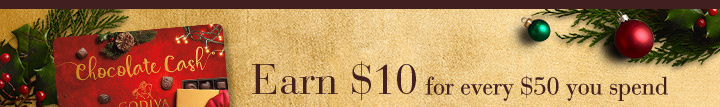 Earn $10 for every $50 you spend Online and in Boutiques.
