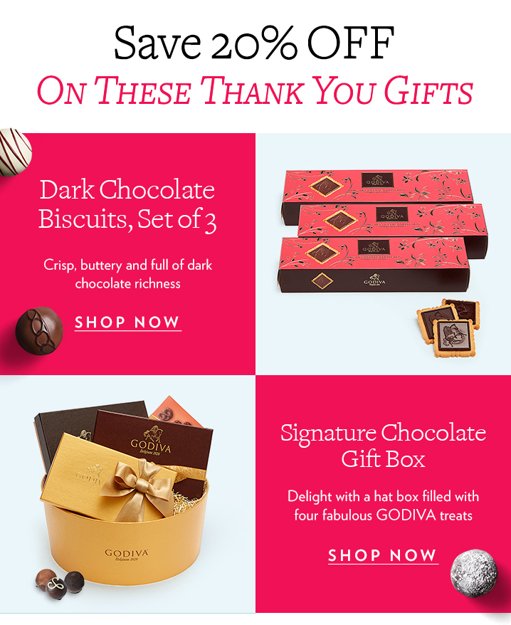 Save 20% OFF Select Thank You Gifts + FREE Shipping
